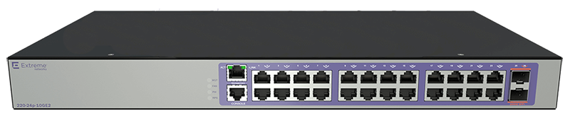 Extreme Networks ExtremeSwitching 210 24-port Switch