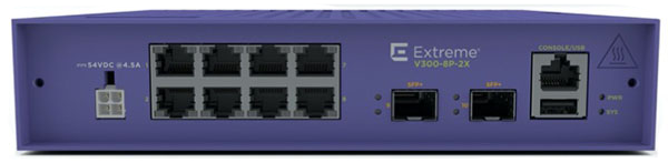 V300-8P-2X Edge Switch