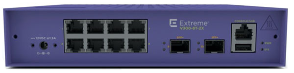 V300-8T-2X Edge Switch
