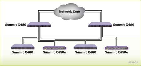 Summit X480 Deployment